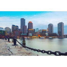 Закат в Бостоне